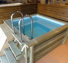 Piscine hors sol xs - Mini piscines enterrees ...