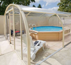 Abris piscines hauts installation ni vre nevers for Abri piscine pas cher