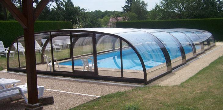 Abris piscine m dium fabricant ni vre nevers espace for Abri de piscine circulaire